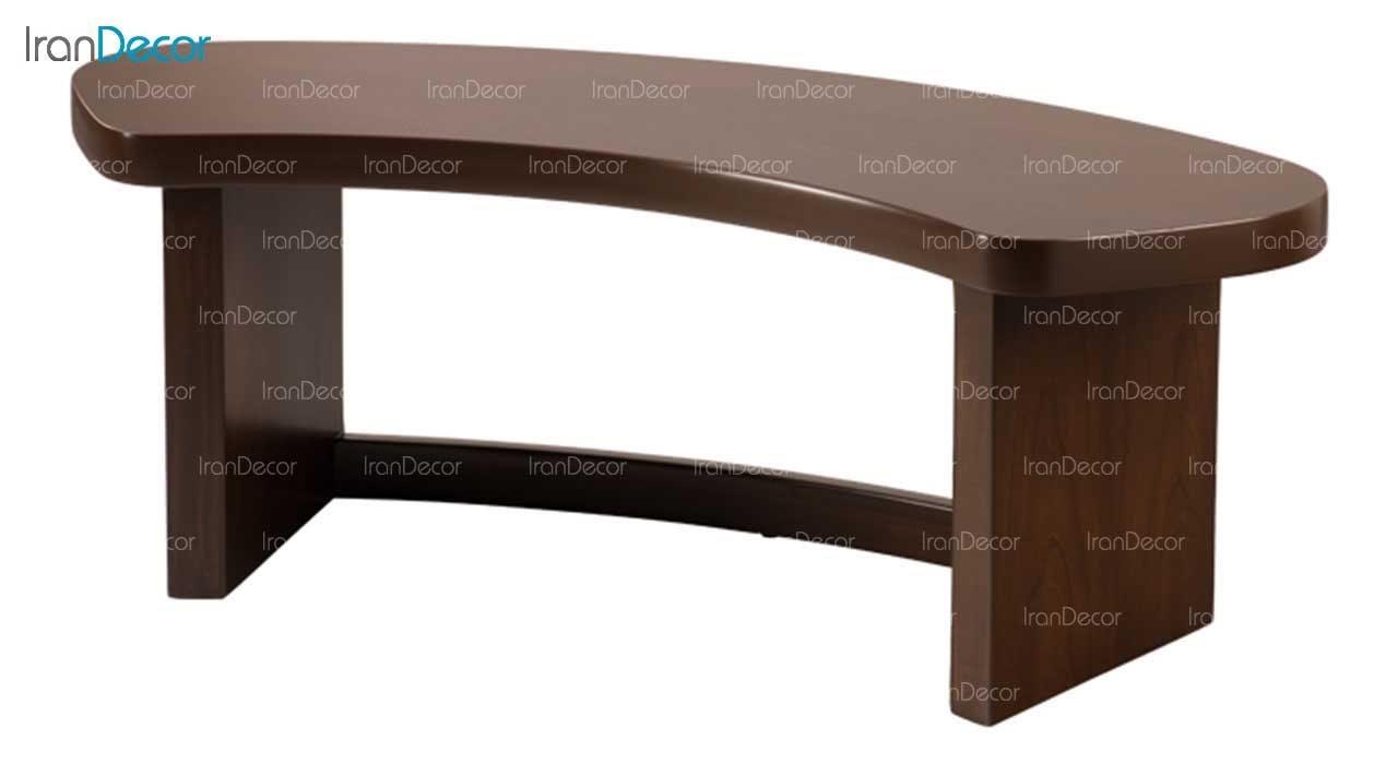 نیمکت با کفی چوبی مدل یاس از فاما