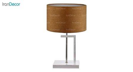 آباژور رومیزی چشمه نور مدل MT7028-WT قهوه ای روشن