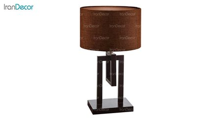 آباژور رومیزی چشمه نور مدل MT7027-BR قهوه ای