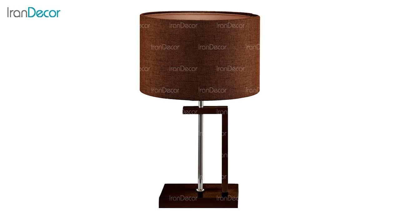 آباژور رومیزی چشمه نور مدل MT7028-BR قهوه ای
