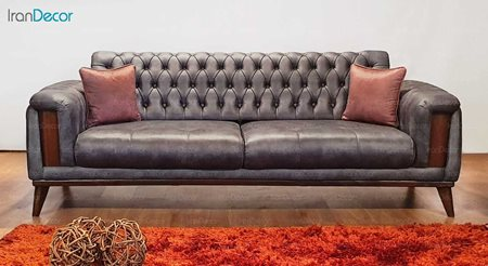 مبل راحتی سه نفره تختخواب شو مدل پاریس F2 از نیک آذین