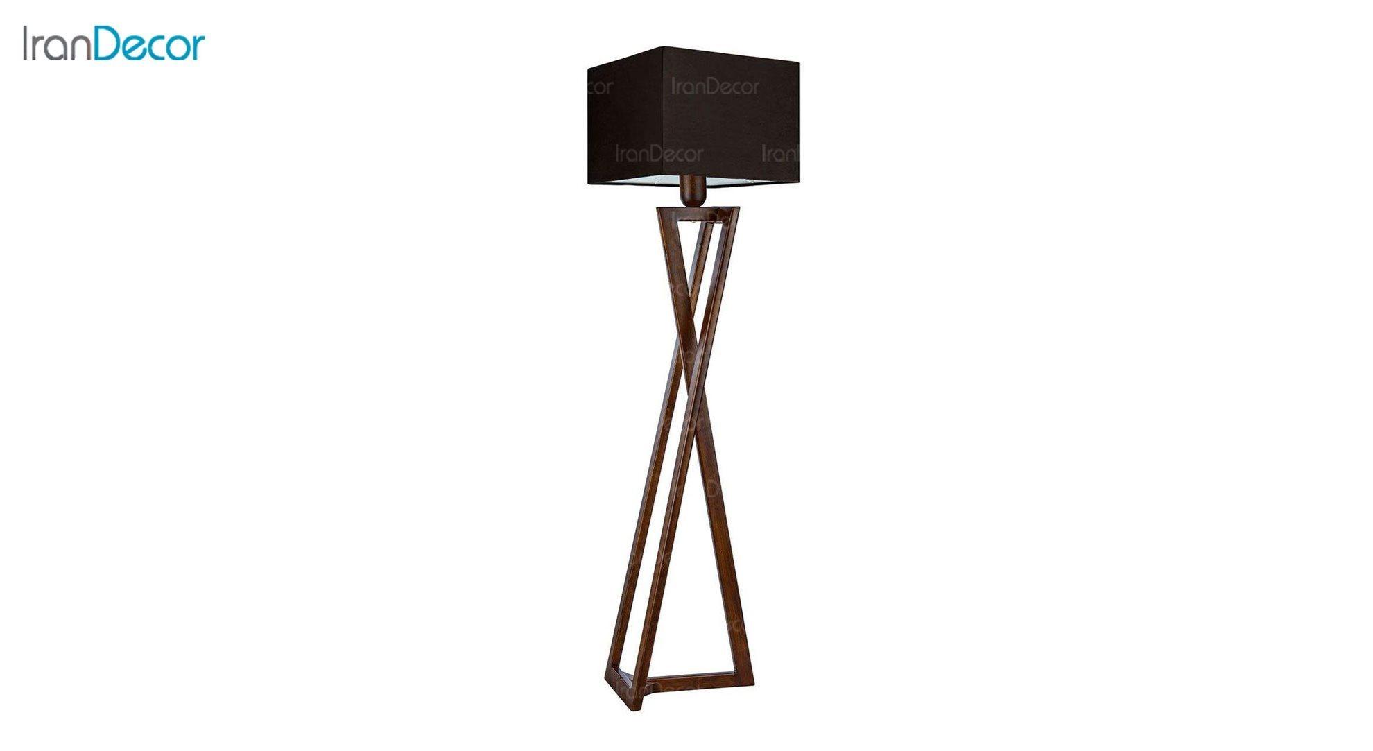 آباژور ایستاده چوبی مدل آرام ML7025/24 قهوه ای