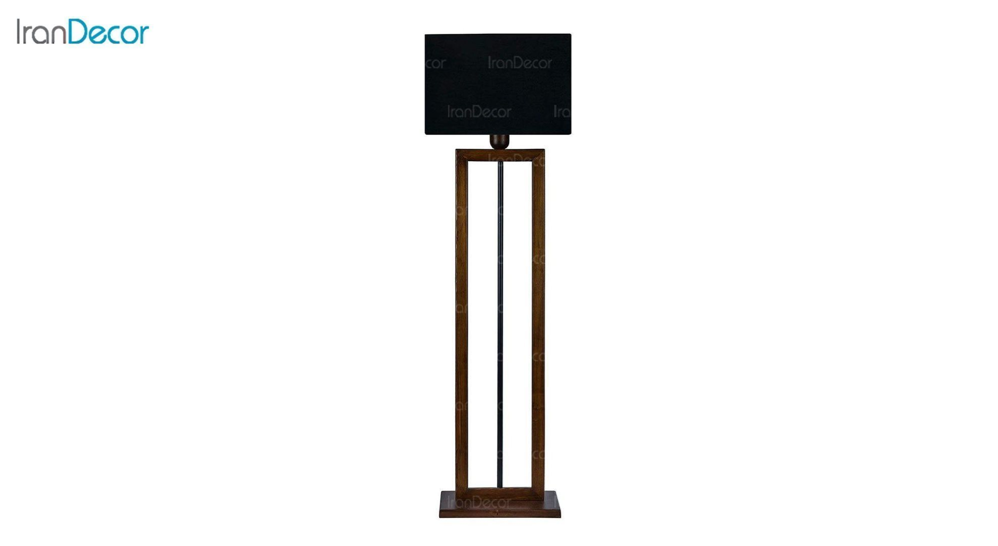 آباژور ایستاده چوبی مدل آرام ML7029/03 مشکی
