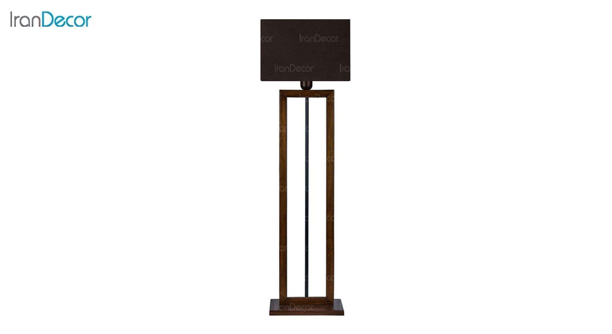 آباژور ایستاده چوبی مدل آرام ML7029/03 قهوه ای