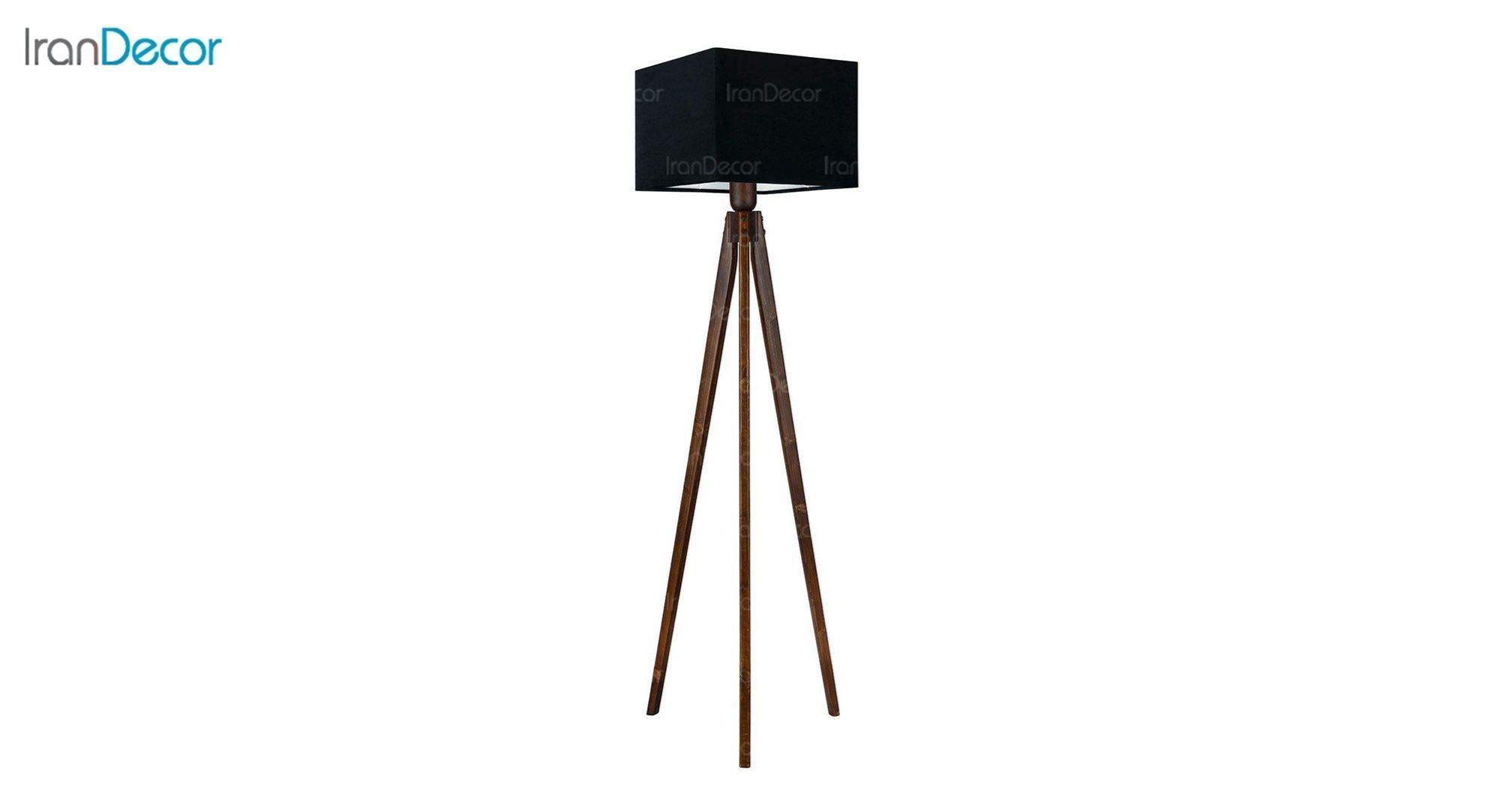 آباژور ایستاده چوبی مدل آرام ML7024/23 مشکی