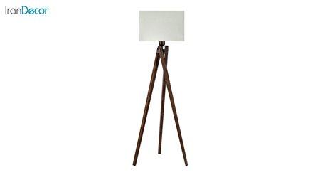 آباژور ایستاده چوبی مدل آرام ML7028/22 کرم