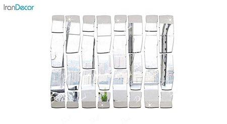آینه پلکسی گلس رومادون طرح آجر کد 402
