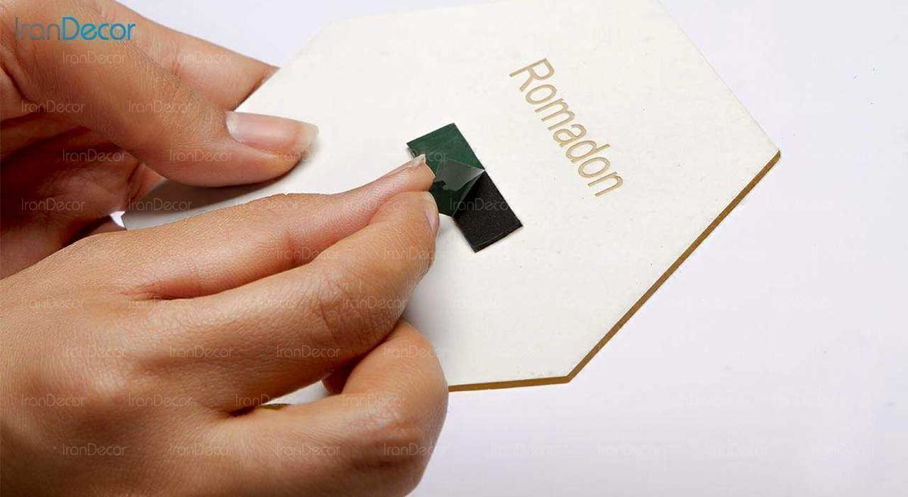 آینه پلکسی گلس طرح قلب رومادون کد 452 اندازه 40 سانتی متر شیوهی نصب