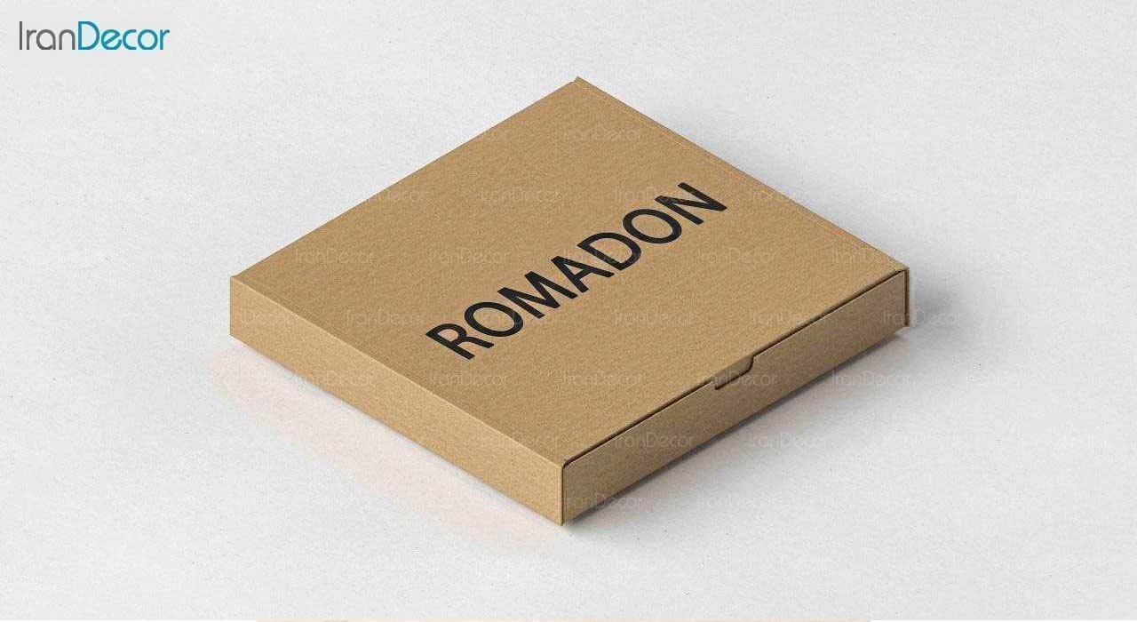 آینه پلکسی گلس طرح قلب رومادون کد 452 اندازه 40 سانتی متر بسته بندی