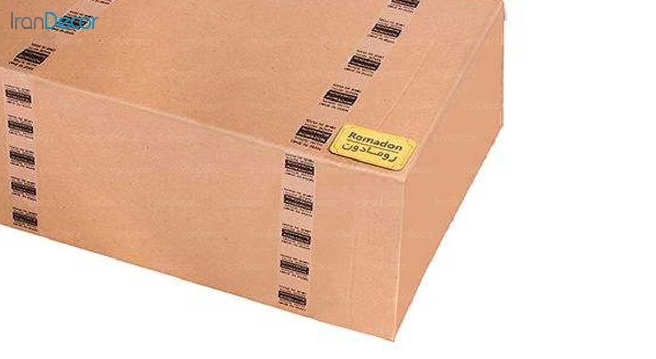 شلف و طبقه دیواری چوبی رومادون مدل 3025 نوع بسته بندی