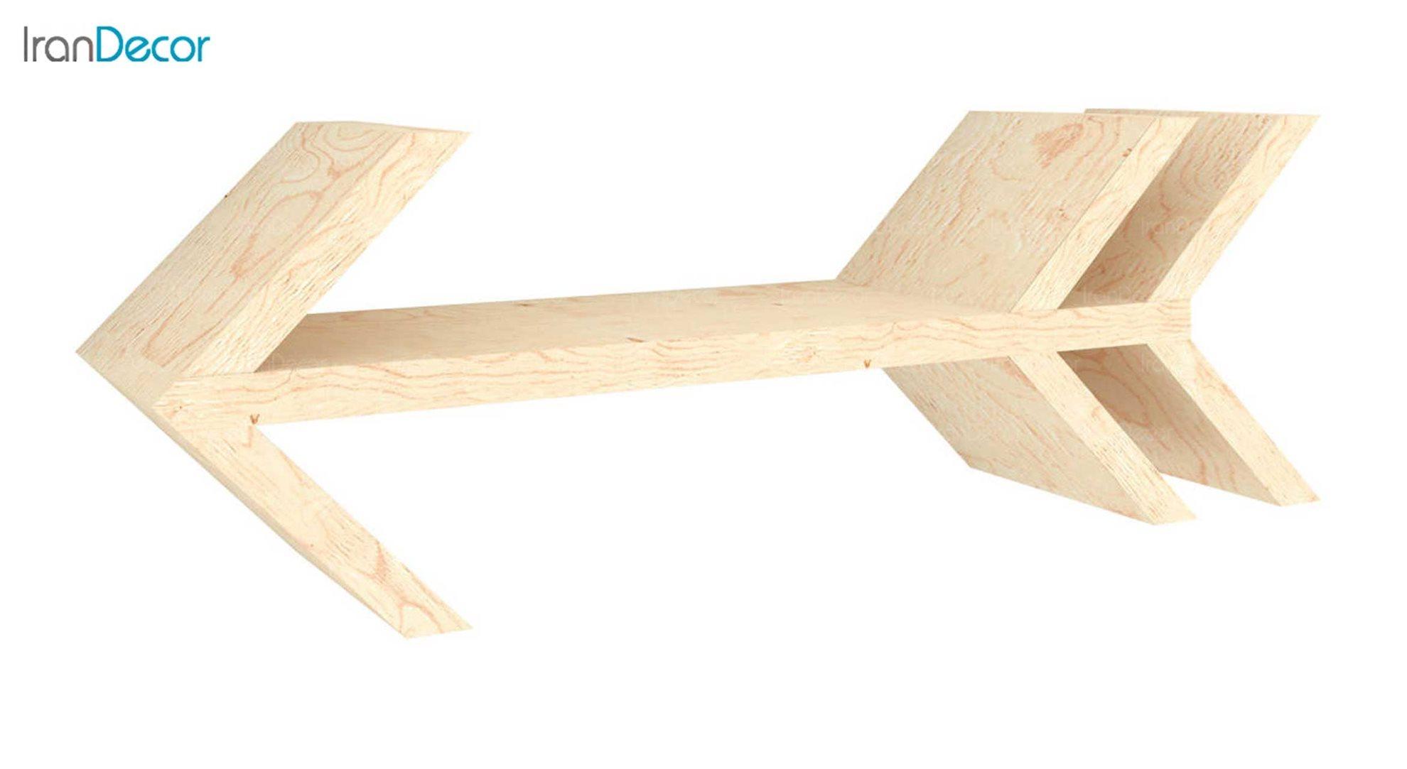 شلف و طبقه دیواری چوبی رومادون مدل 3026