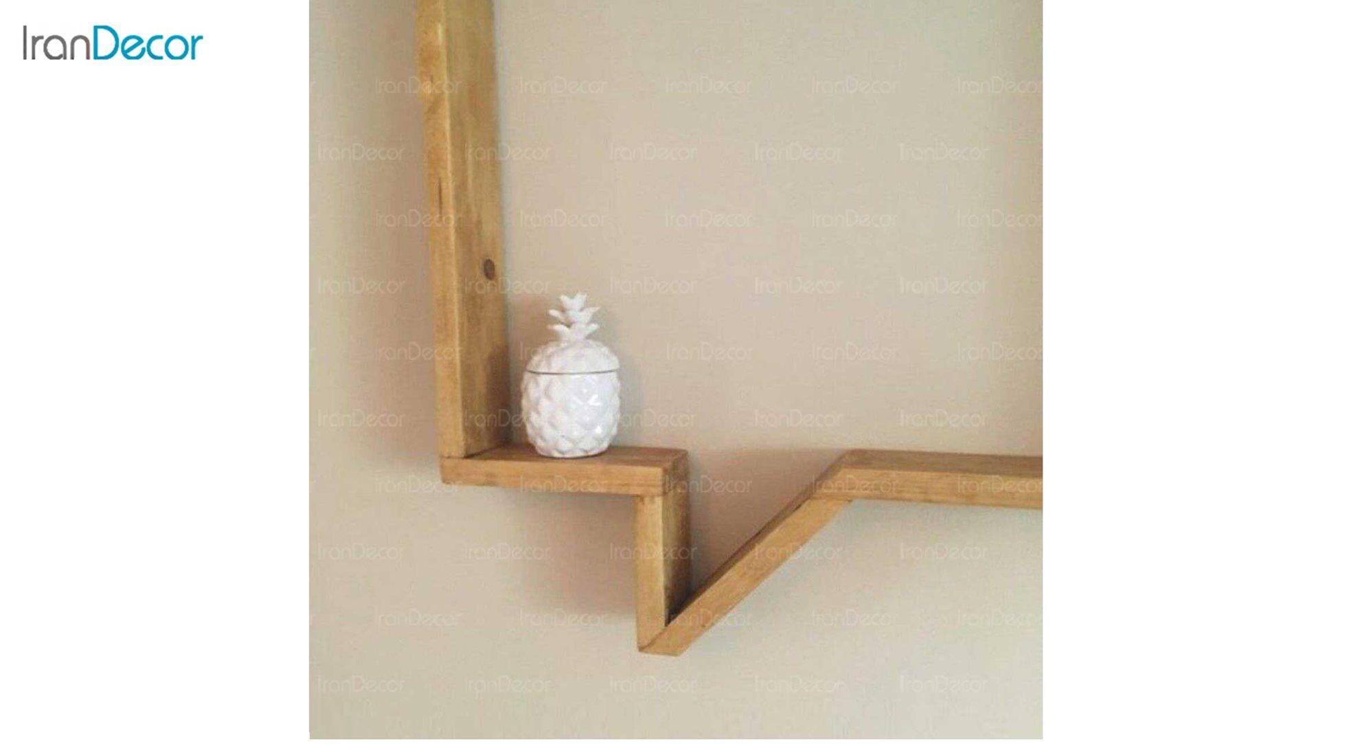 شلف و طبقه دیواری چوبی رومادون مدل 3027