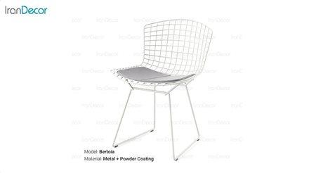 تصویر صندلی باغی مدل برتویا از صنیع کار