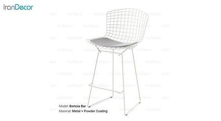 تصویر صندلی بار مدل برتویا از صنیع کار
