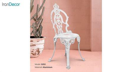 تصویر صندلی باغی مدل گیسویی از صنیع کار