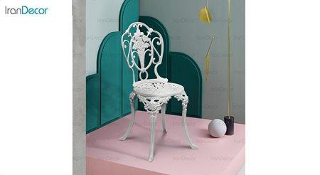 تصویر صندلی باغی مدل رز از صنیع کار