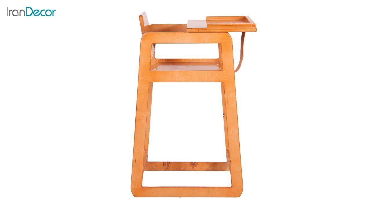 صندلی چوبی  ناهارخوری کودک مدل KIDS از استیل هامون