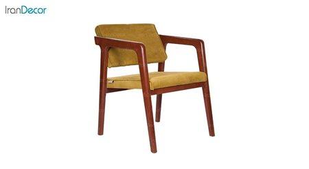 صندلی دسته دار چوبی مدل CH41 از استیل هامون
