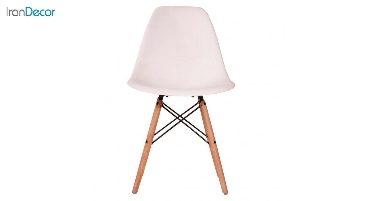 صندلی داووس مدل DAW سفید از استیل هامون