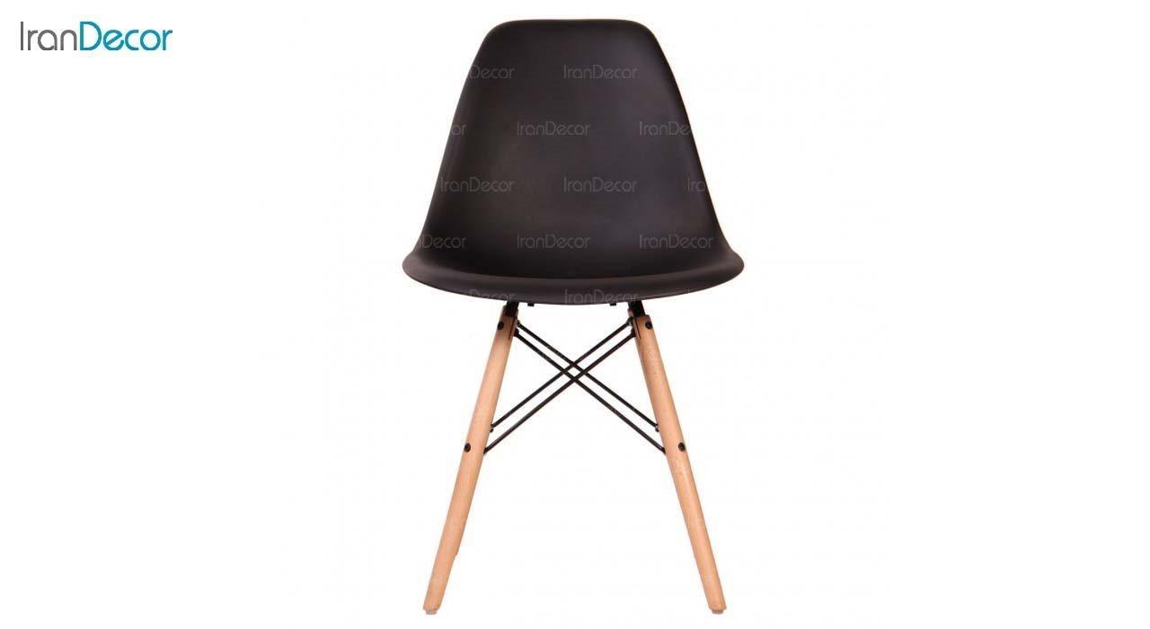 صندلی داووس مدل DAW مشکی از استیل هامون