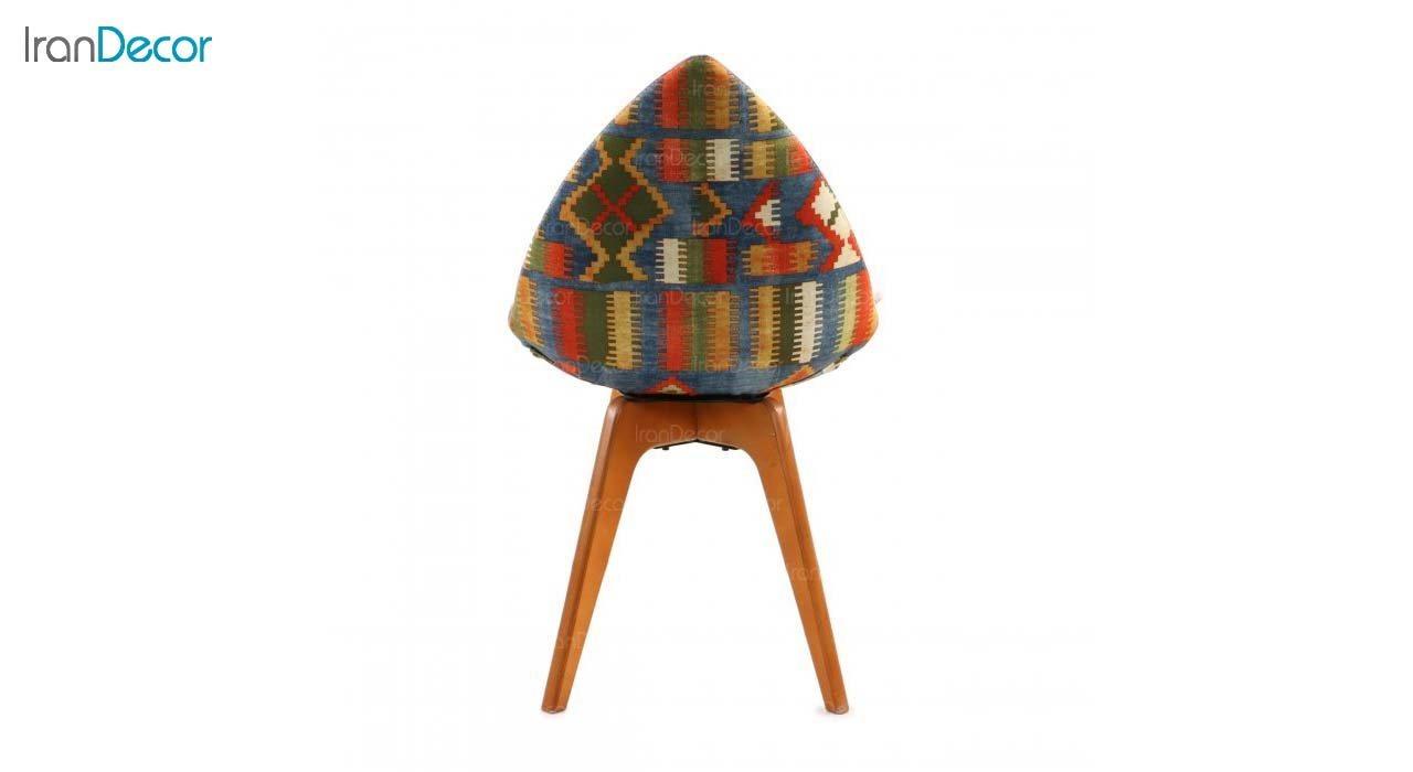 صندلی دیبا مدل DW طرح دار از استیل هامون