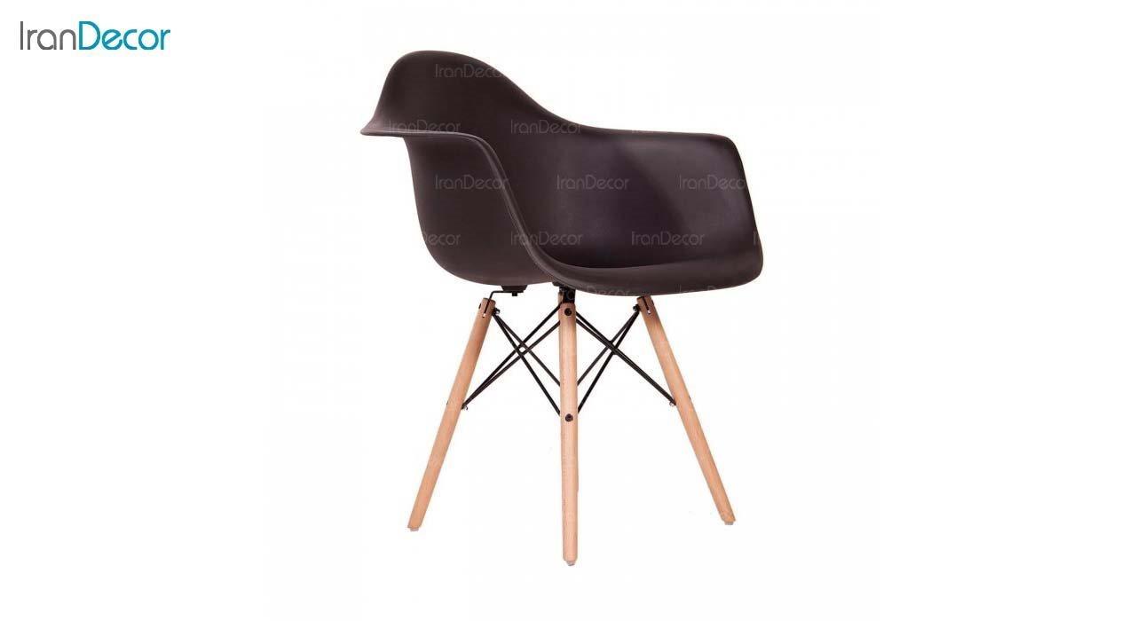 صندلی دسته دار ایمز مدل ایزی EW مشکی از استیل هامون