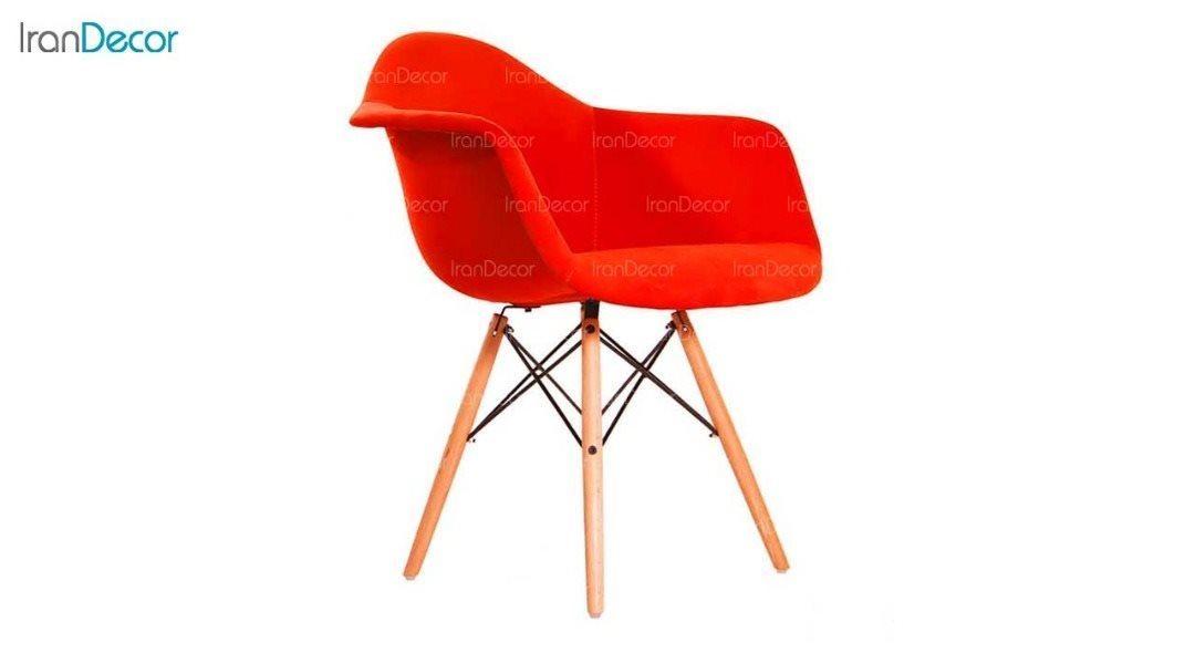 صندلی دسته دار ایمز مدل ایزی ETW قرمز از استیل هامون