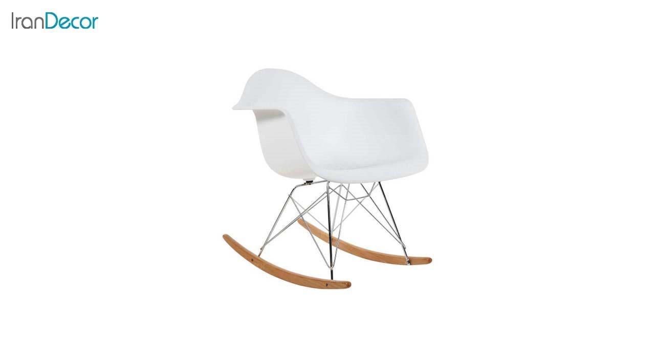صندلی راک مدل ایزی ER سفید از استیل هامون