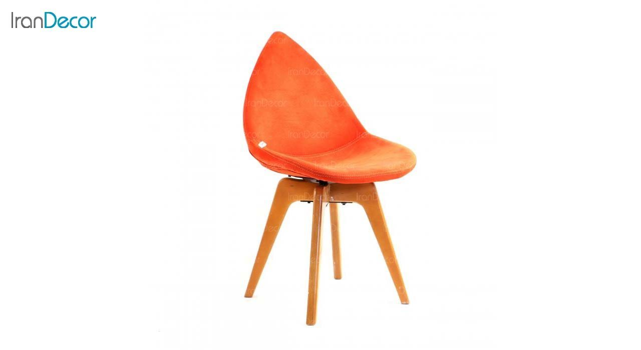 صندلی دیبا مدل DW نارنجی از استیل هامون