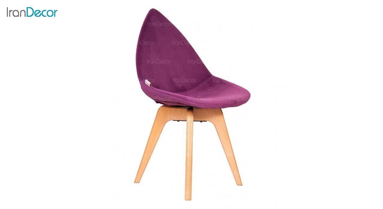 صندلی دیبا مدل DW بنفش از استیل هامون