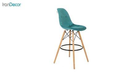 صندلی اپن مدل داووس DATW51 سبز از استیل هامون