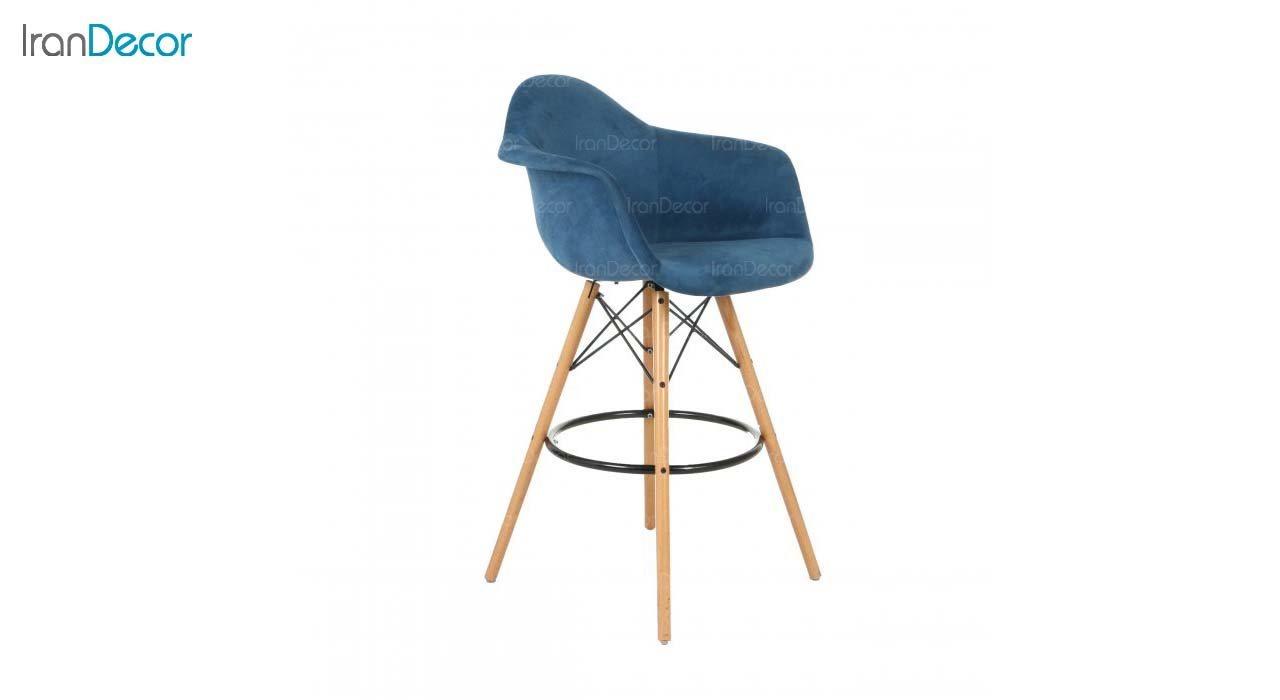 صندلی اپن دسته دار ایمز مدل ایزی ETW51 آبی از استیل هامون