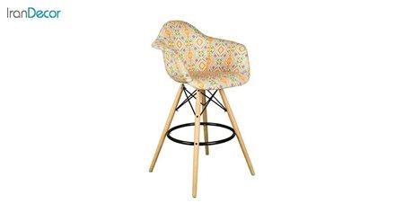 صندلی اپن دسته دار ایمز مدل ایزی ETW51 از استیل هامون طرح دار