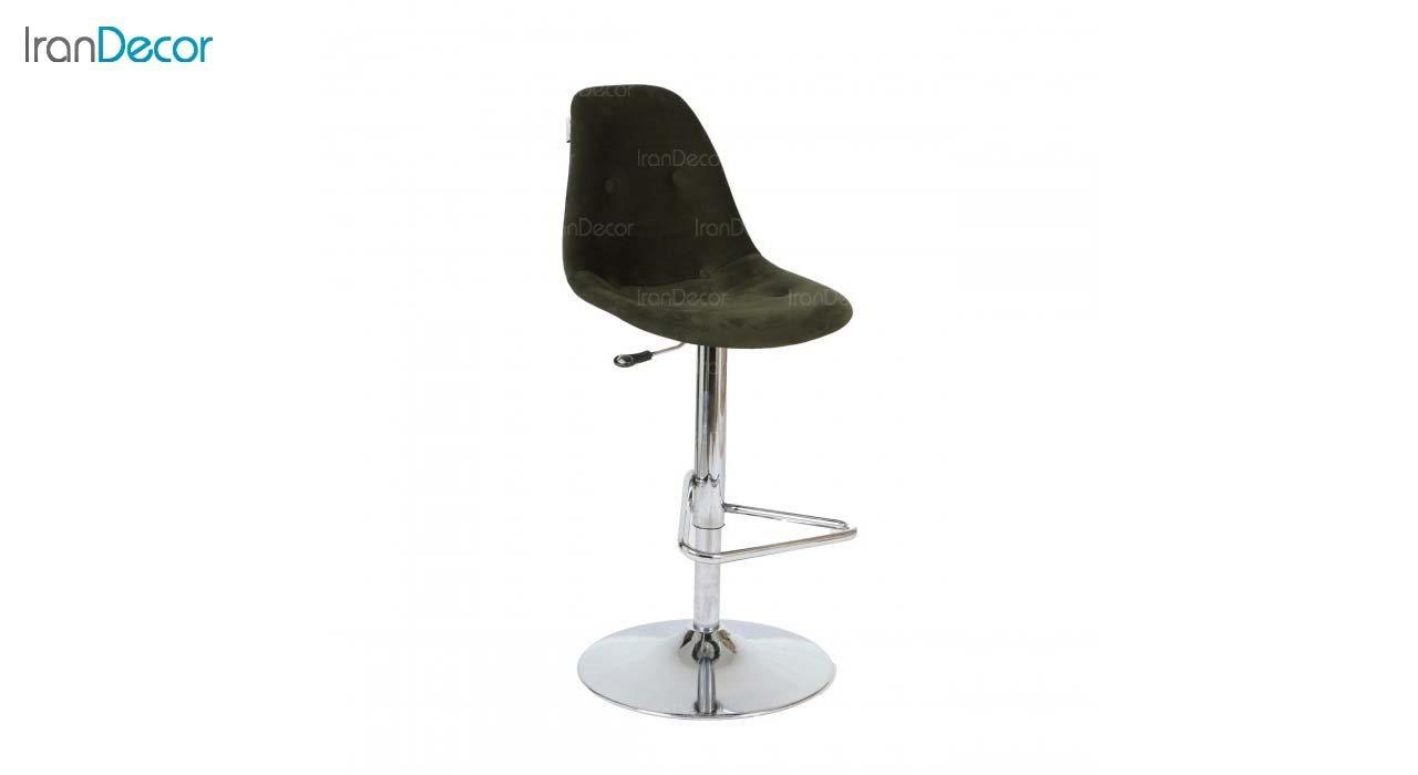 صندلی اپن فلزی ایمز مدل داووس DAT51 مشکی از استیل هامون