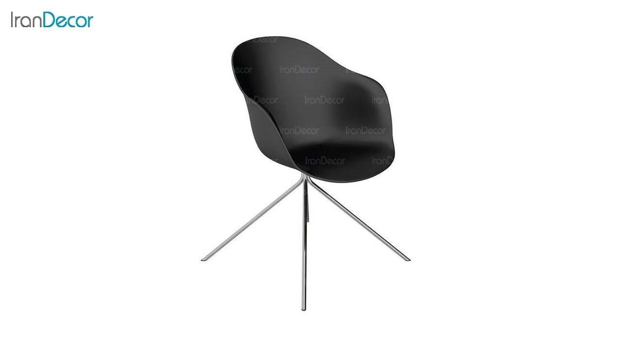 صندلی مدل کامفورت CB2 مشکی از استیل هامون