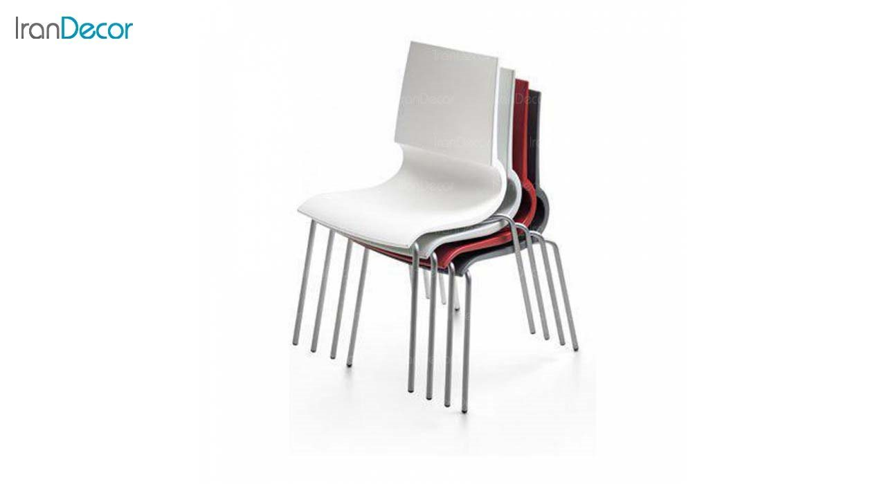 صندلی پلاستیکی مدل رونی RO62 از استیل هامون