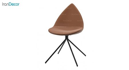 صندلی مدل دیبا D2 نسکافه ای از استیل هامون