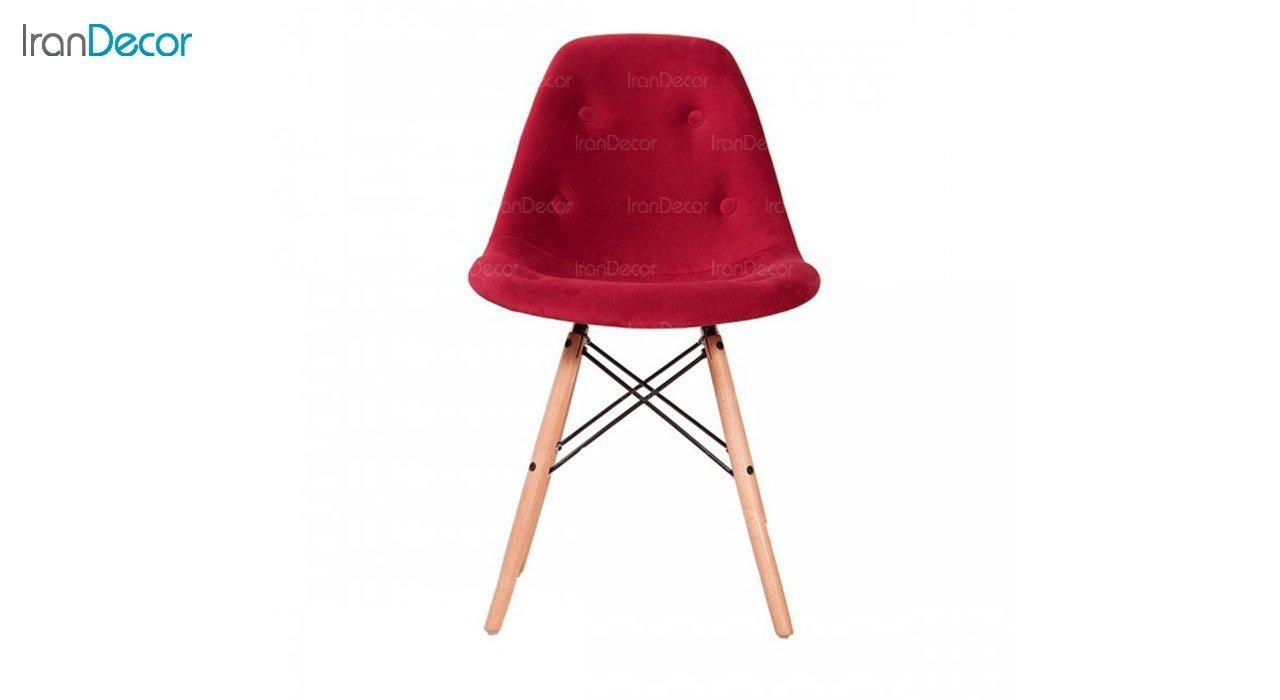 صندلی داووس مدل DATW سرخابی از استیل هامون