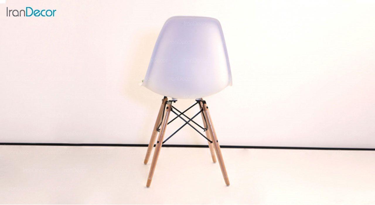 صندلی داووس مدل DANTW طرح دار از استیل هامون