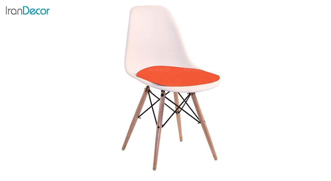 صندلی داووس مدل DANTW نارنجی از استیل هامون