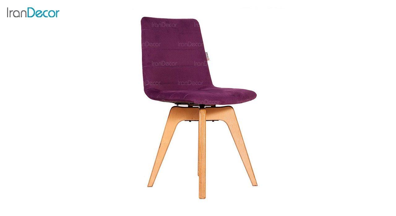 صندلی مدل فونیکس PHW بنفش از استیل هامون