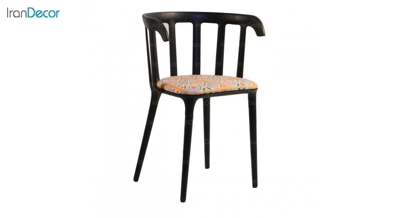 صندلی دسته دار مدل وینسو WIT-1 طرح دار از استیل هامون