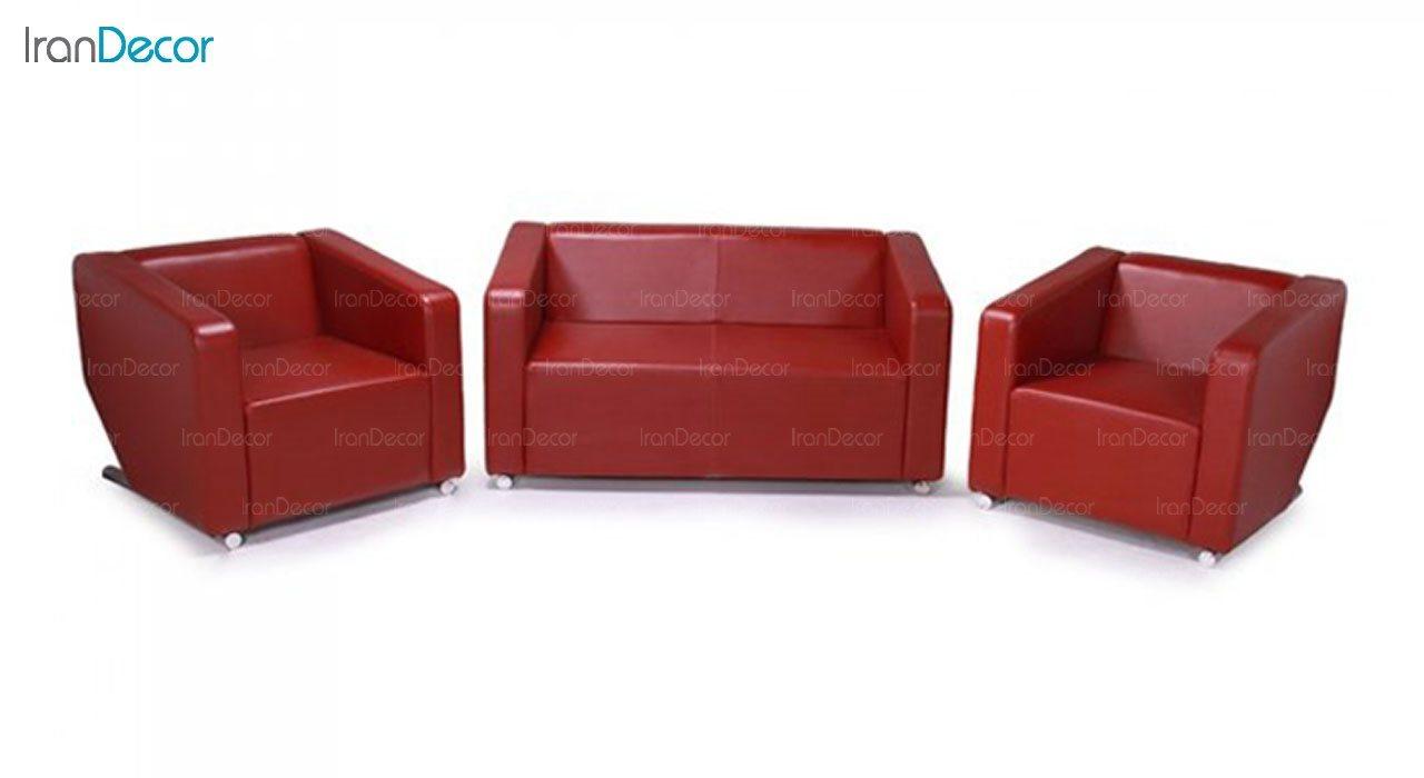 کاناپه دو نفره مدل صوفی SO2 از استیل هامون
