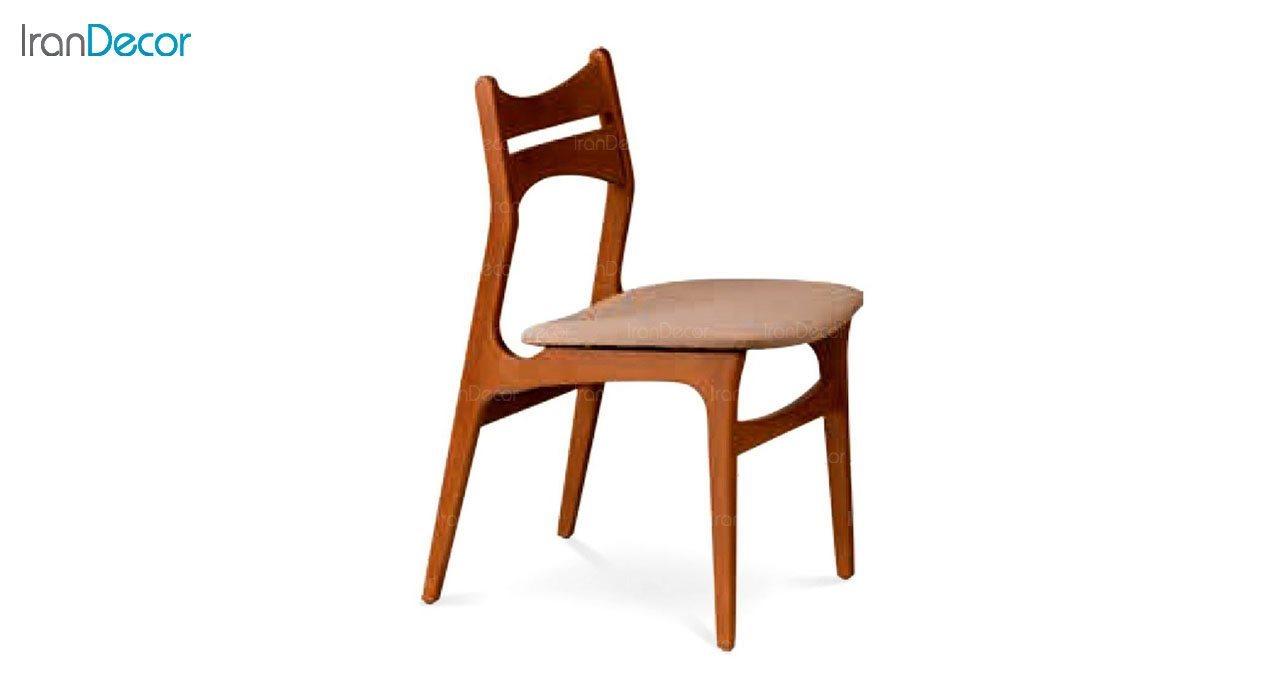 صندلی ناهار خوری مدل آریز با پشتی چوبی از فاما
