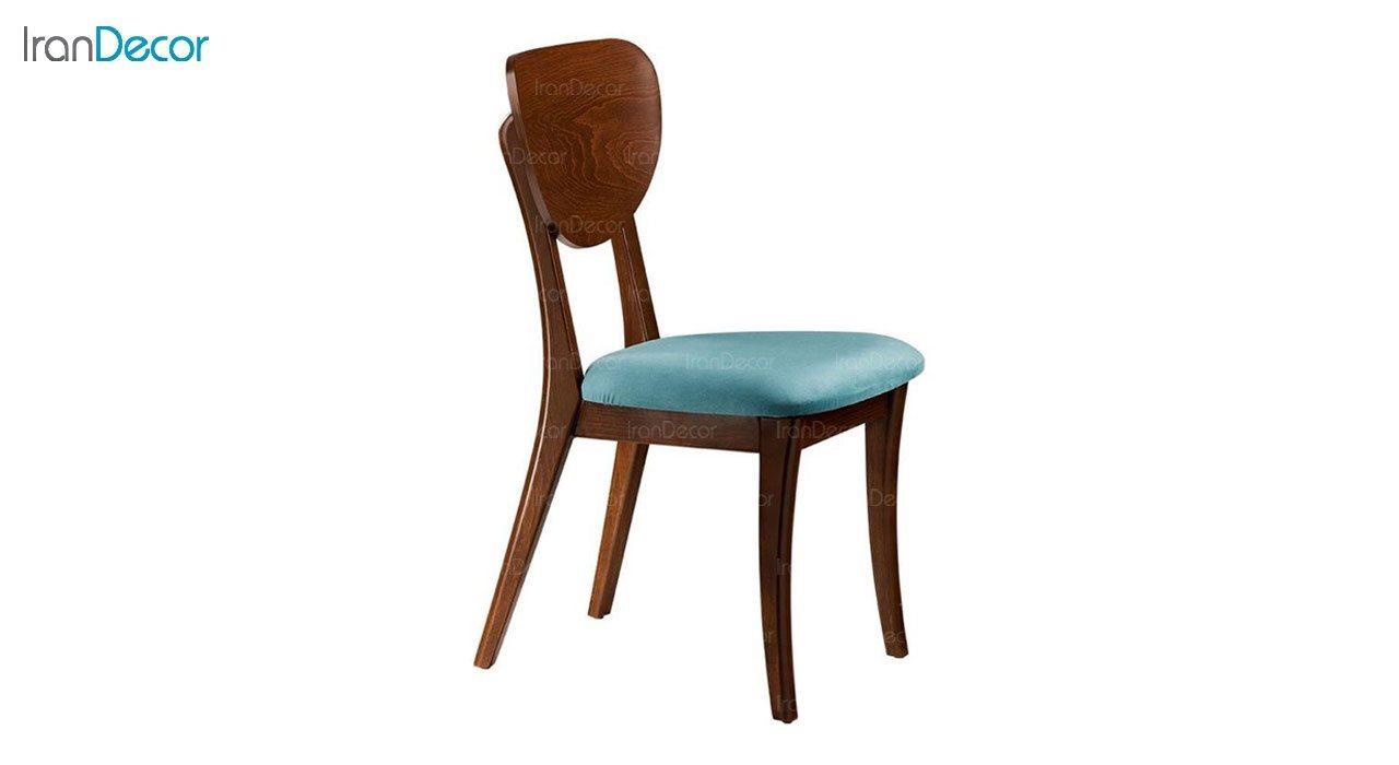 صندلی ناهار خوری مدل هیما با پشتی چوبی از فاما