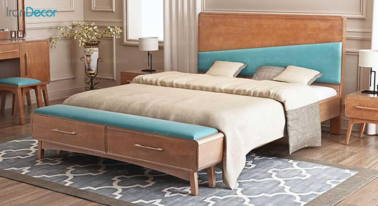 تخت خواب دو نفره مدل مکسی