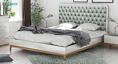 تخت خواب دو نفره مدل ملیسا