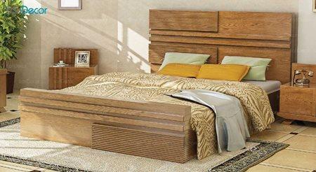 تخت خواب دو نفره مدل سوفیا