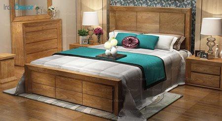 تخت خواب دو نفره مدل سورنا
