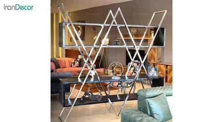 قفسه ویترین مدرن لافت مدل لئون